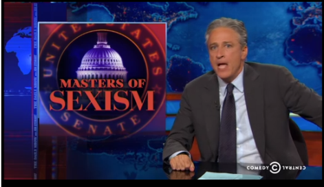 Masters of Sexism on The Daily Show
