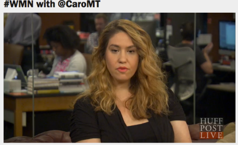 Screen shot from Huffpost Live